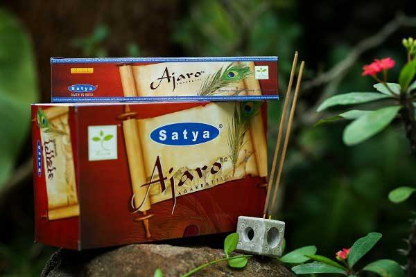 Encens indien Ajaro Satya Saï Baba - Boite de 15 gr