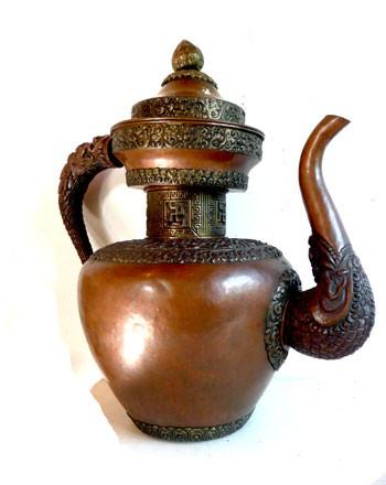 Pot à eau Tibétain