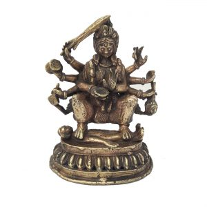 Kali - Statue en bronze de la déesse KALÎ