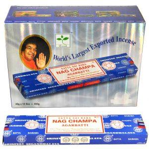 Encens Nag Champa Satya Saï Baba - Boite 40 gr
