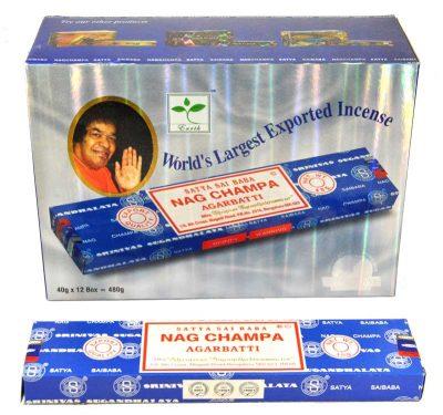 Encens indien Nag Champa Satya Saï Baba – Boite 40 gr