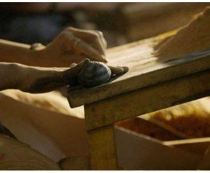 fabrication de l'encens Nag Champa