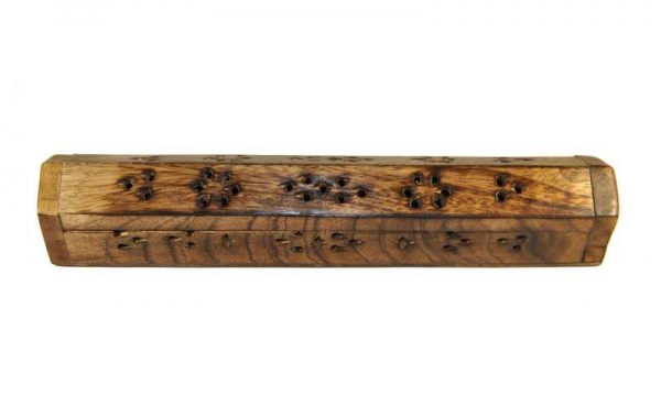 Boite porte encens en bois