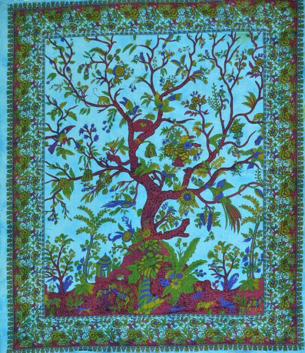 tenture indienne arbre de vie