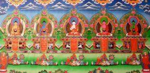 5 Dhyani Bouddhas