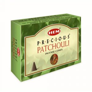 Encens cônes Precious Patchouli - HEM