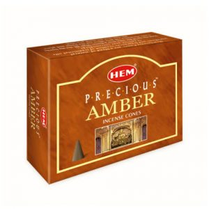 Encens cônes Precious Amber ( Ambre )