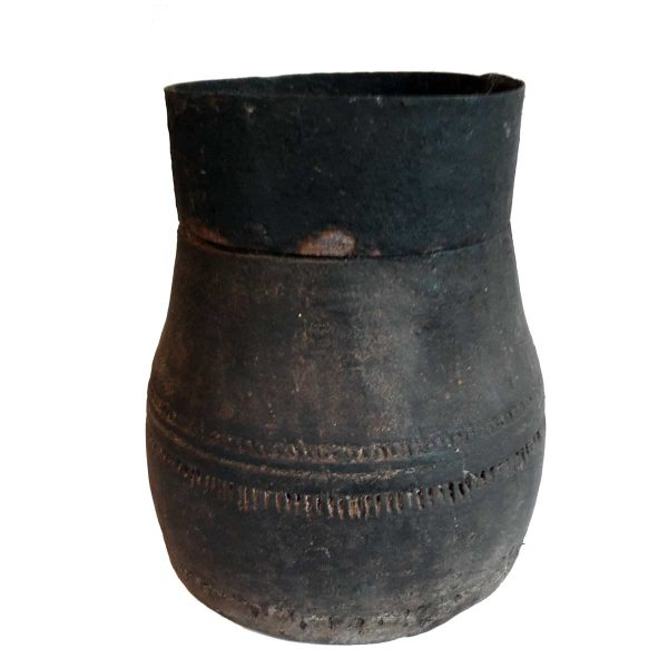 Ancienne mesure à riz indienne