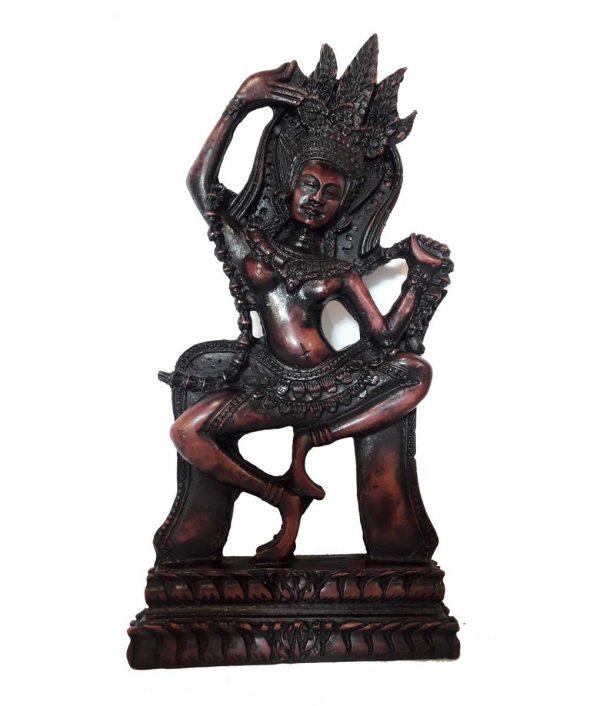 Statue Apsara nymphe céleste