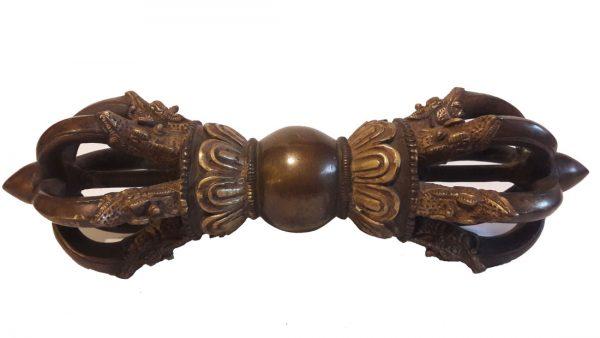 Vajra ou Dorjé Tibétain - Ancien - grande-petite taille