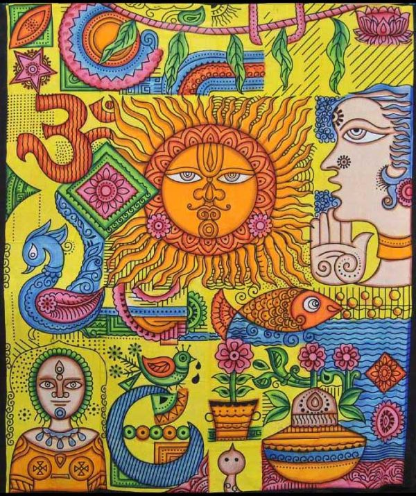 Tenture murale Soleil