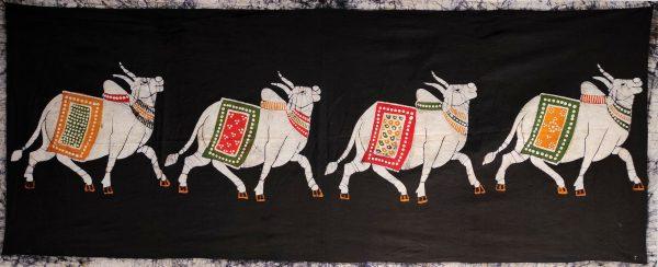 Batik Indien Vaches sacrées