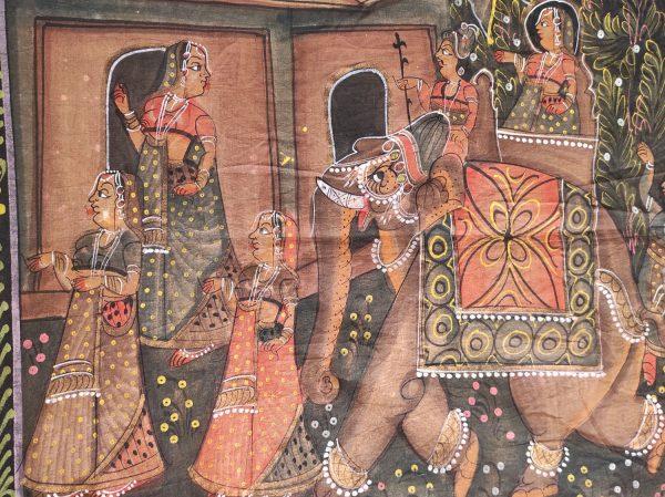Peinture Indienne Mariage Rajput