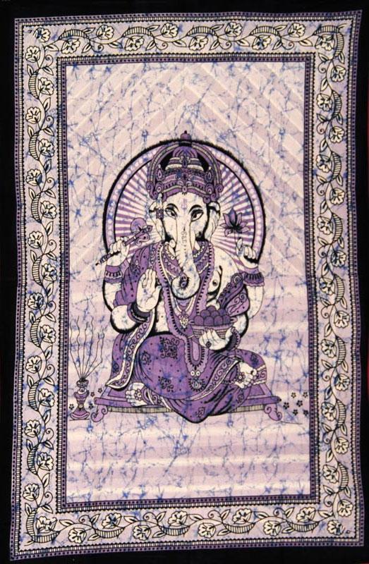Petite tenture indienne Ganesh