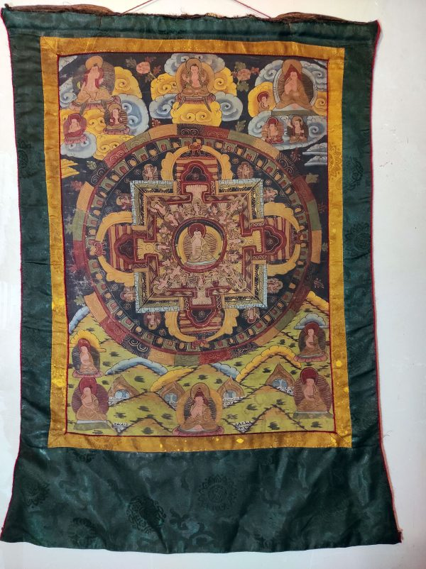 Thangka Mandala Tibétain