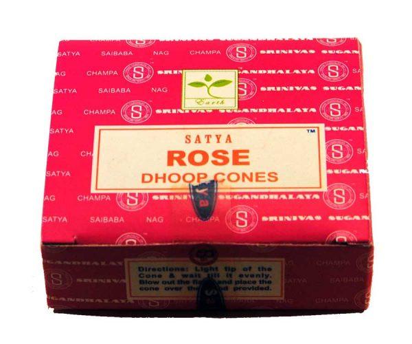 Encens cônes Rose Satya - Inde