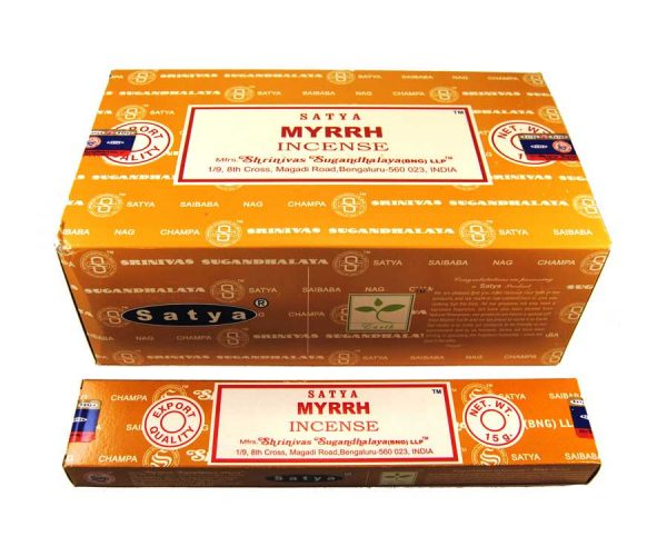 Encens naturel Myrrh - Satya - Inde