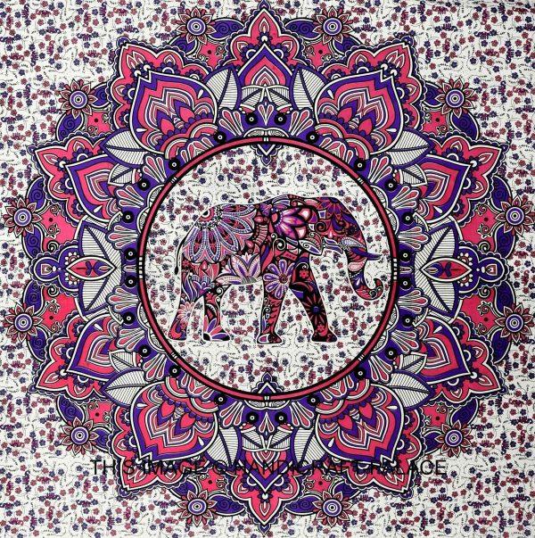 Tenture Mandala Elephant